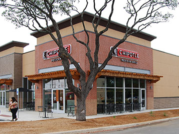 New Braunfels Square Strip Center